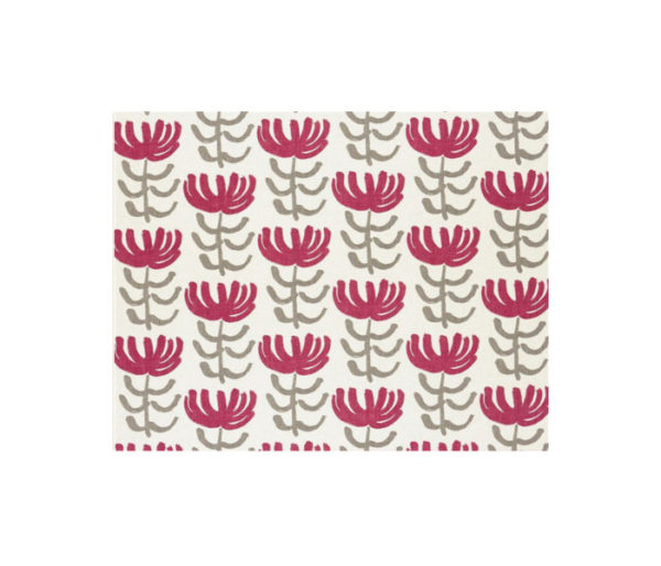 coton imprimé motif tribal