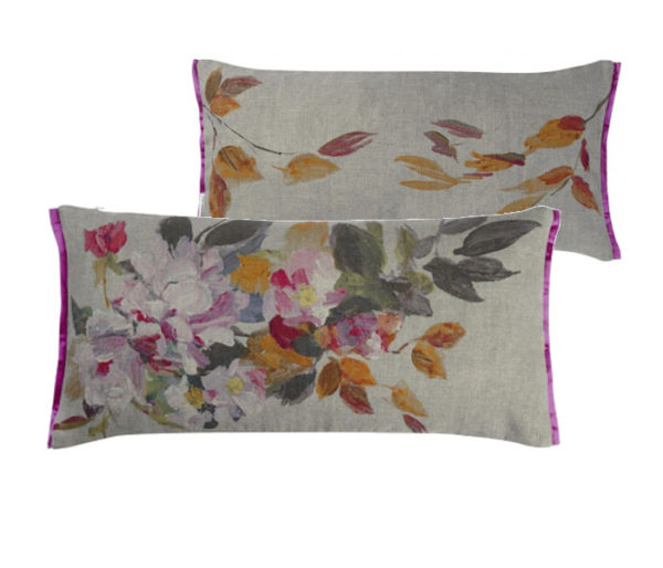 coussin lin rectangulaire
