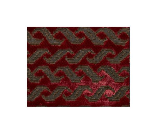 velours motifs géométriques
