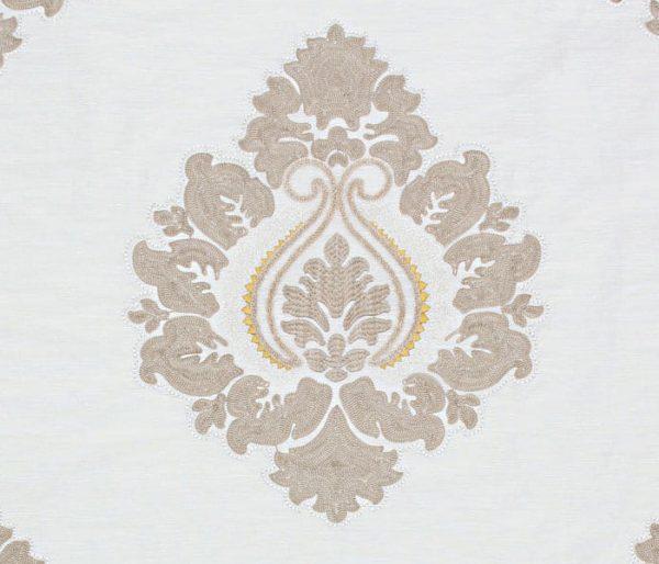 Tissu imprimé de rosaces