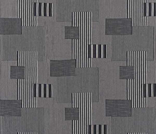 Tissu patchwork contemporain