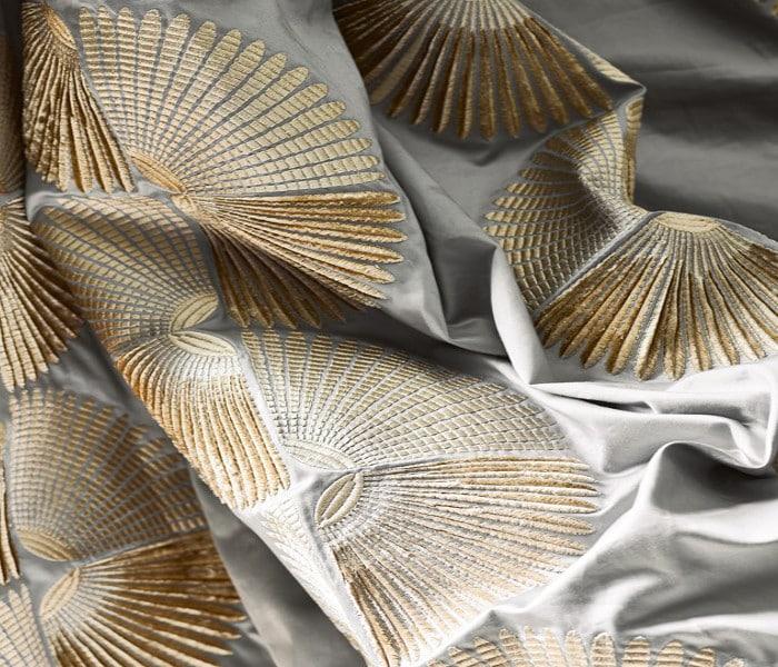 Broderies Art Déco pour rideaux