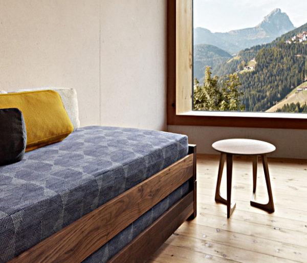 Tissu siège texturé et contemporain
