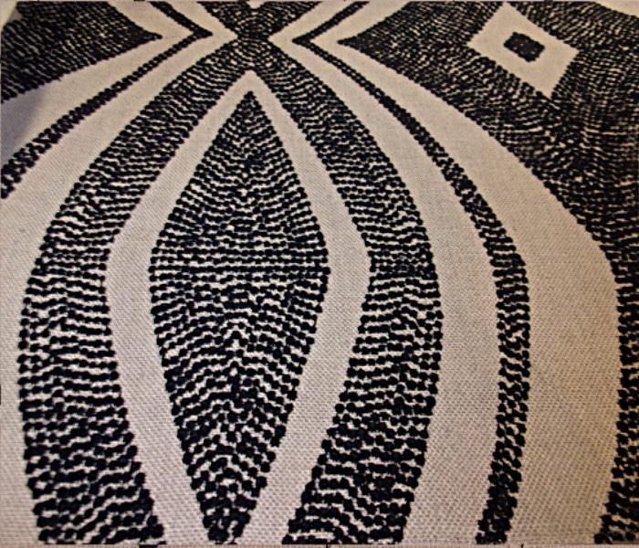 Lin brodé de motif Africain
