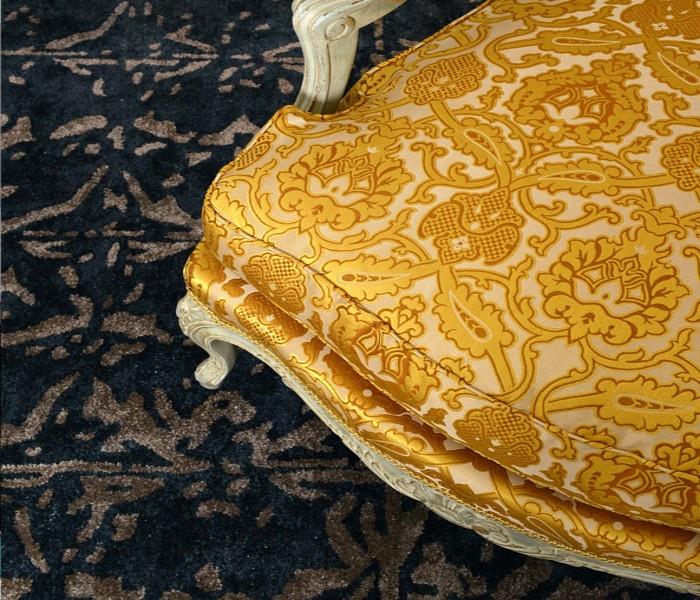 Tissu d'ameublement pour les sièges de style