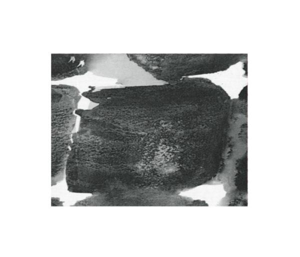 Coton imprimé de larges tâches aquarellisées