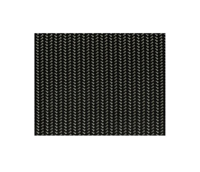Velours piqué et imprimé d'un motif géométrique