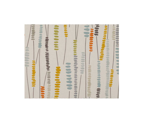Rideaux en coton imprimé de motifs Vintage