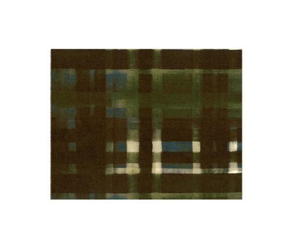 Velours contemporain aux motifs de tartan écossais