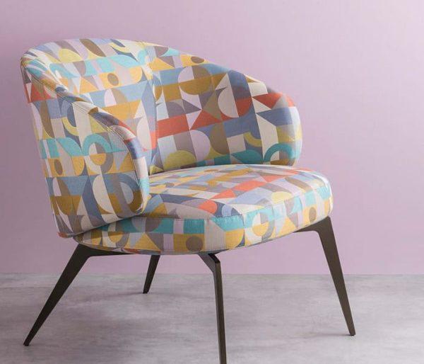 tissu motifs années 60
