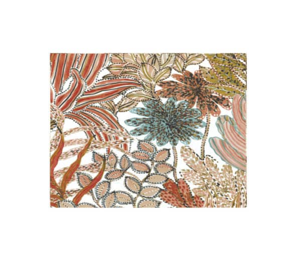 rideaux trés colorés