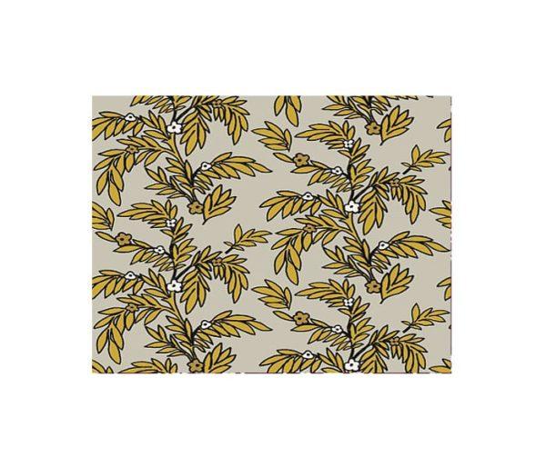 velours motif floral Elitis