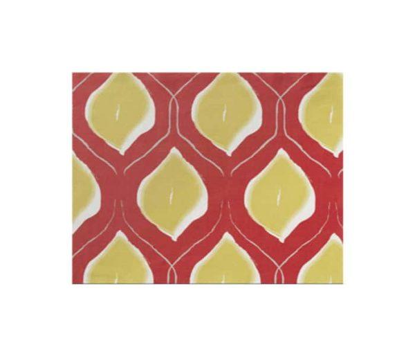 tissu coton imprimé de citron