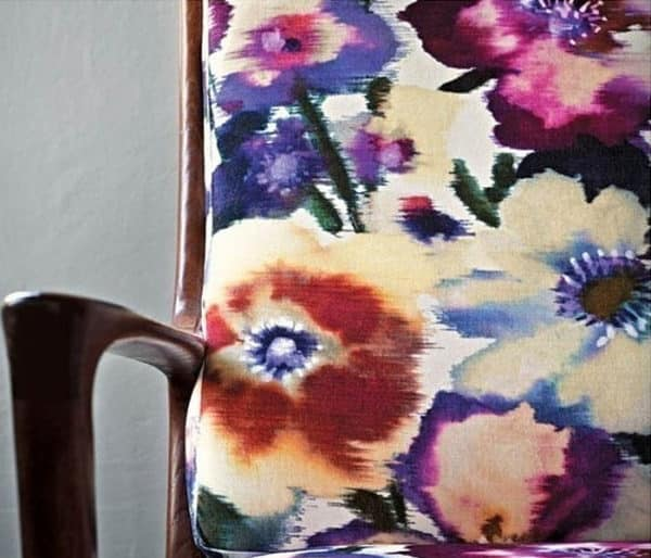 tissu floral de Rubelli