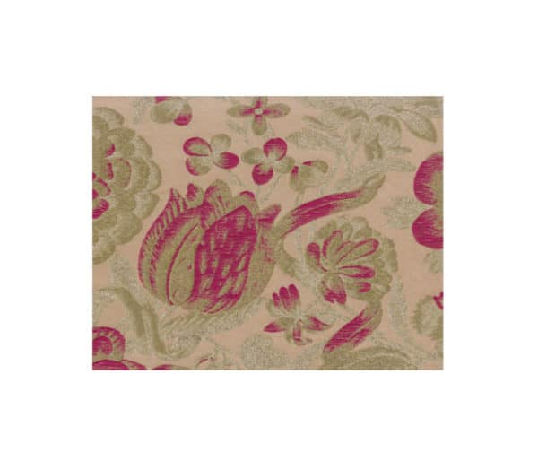 tissu jacquard avec dessin floral