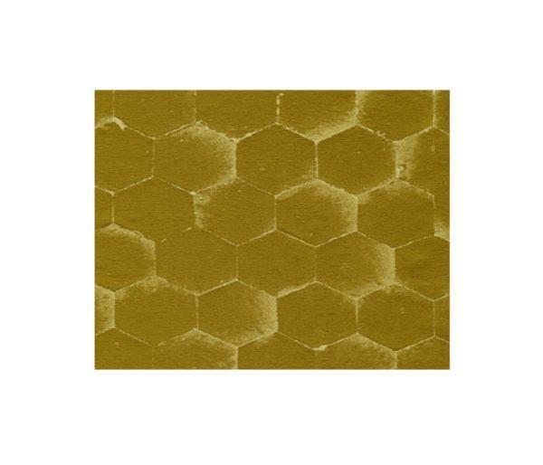 tissu satin avec motifs hexagonaux