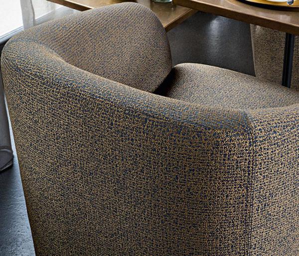 tissu avec une fine structure pour le siège