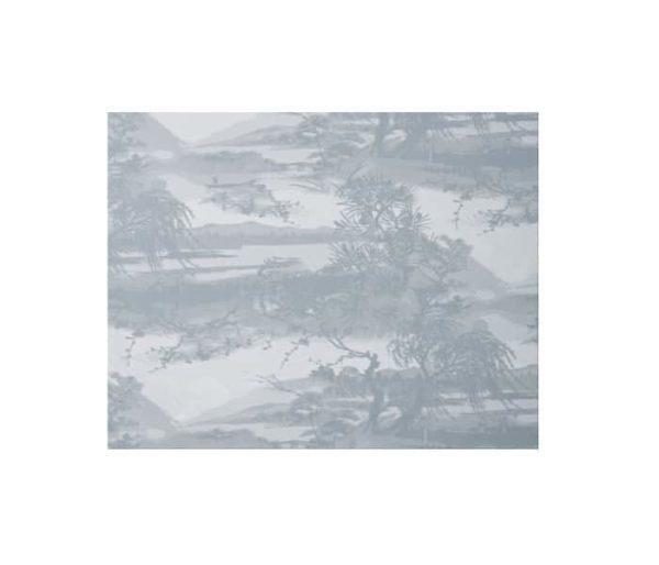 toile imprimée d'un paysage Japonais