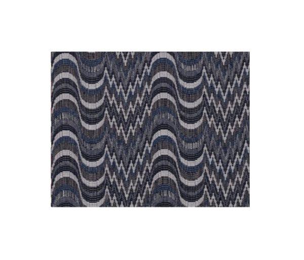 tissu jacquard avec motifs de vagues et de brisures