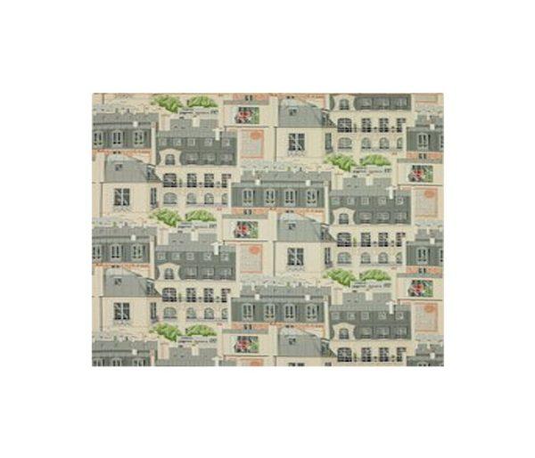 toile imprimée d'un paysage de Paris
