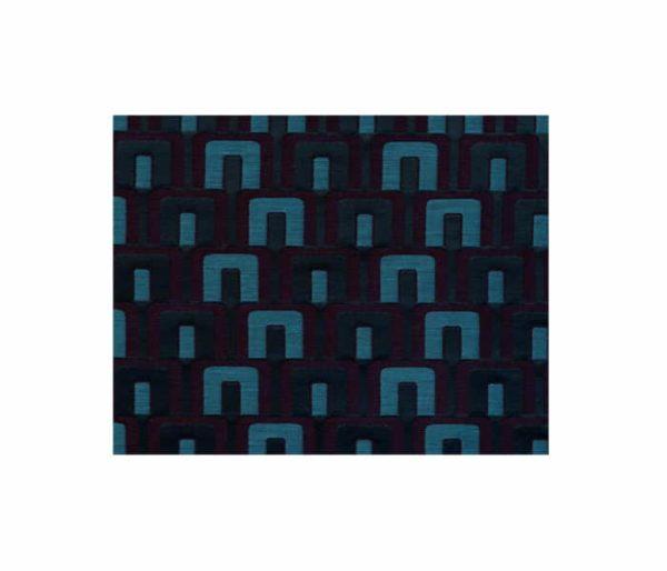 tissu d'ameublement motifs art déco industriel