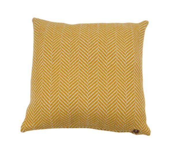 coussin décoratif en laine de Savoie