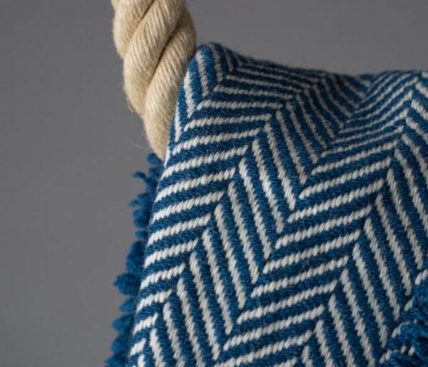 Plaid décoratif en laine de Savoie