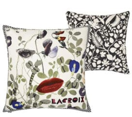 Christian Lacroix<br>Coussin Dame Nature