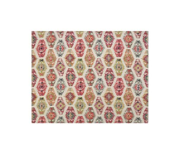 tissu imprimé de motifs traditionnels Kilims