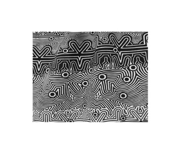 coton imprimé de motifs de Jean Paul Gaultier
