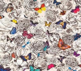 Osborne & Little<br>Tissu Butterfly Garden