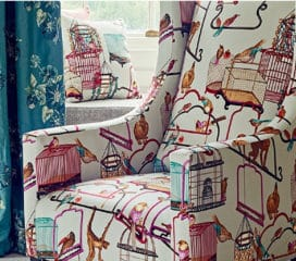 GP&J Backer<br>Tissu Menagerie Velvet