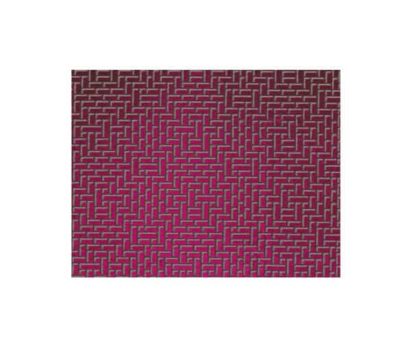 satin d'ameublement imprimé de formes géométriques