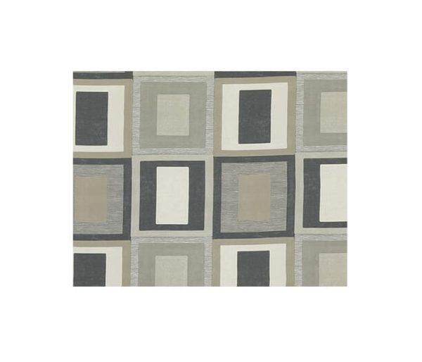 tissu de lin imprimé de motifs géométriques