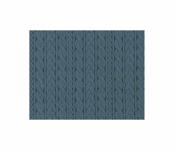 Tissu composé de tresses et de torsades verticales