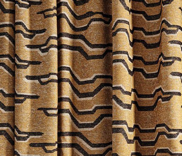 tissu de lin imprimé de motifs tribaux