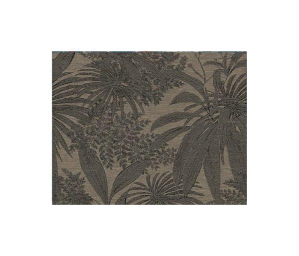 Tissu d'ameublement brodé d'un motif jungle