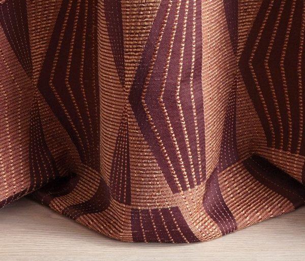 tissu jacquard reproduisant des motifs Africains